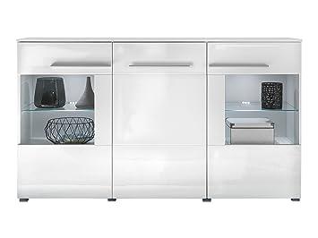 Trendteam wohnzimmer sideboard kommode schrank vision 163 x 97 x 40