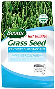 Scotts Turf Builder Grass Seed - Kentucky Bluegrass Mix, 7-Pound (Not Sold in Louisiana)
