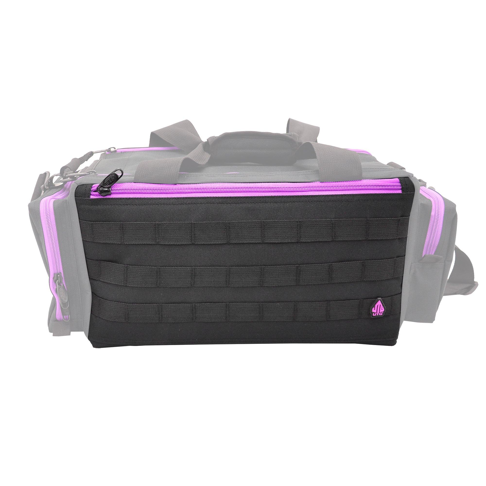 UTG All in One Range/Utility Go Bag, Black/Violet, 21'' x 10'' x 9'' by UTG (Image #10)