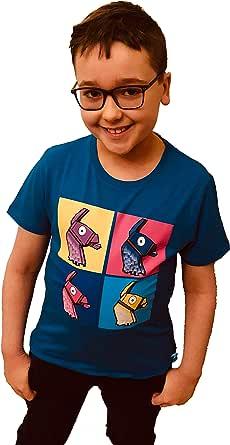 Fortnite Niño Camisetas, Polos y Camisas Azul