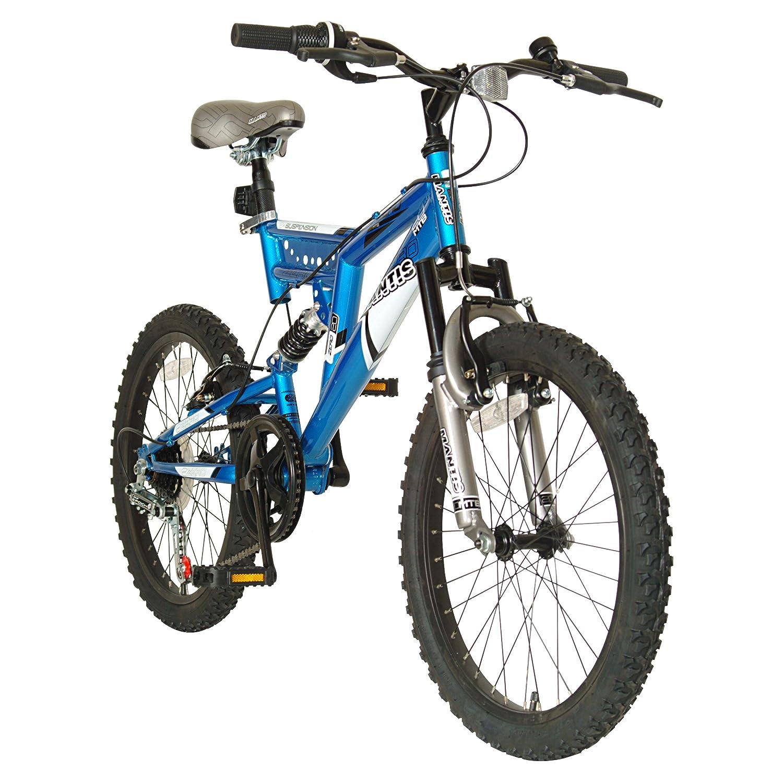 Amazon.com : Mantis Zero Full Suspension Kid\'s Bike, 20 inch Wheels ...