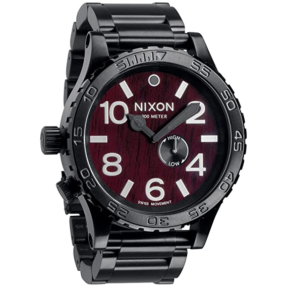 Amazon.com  NIXON Men s Quartz Stainless Steel Watch c335118366d