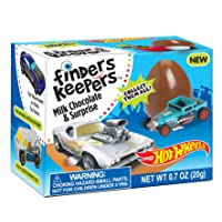Deals on 6 Pack Finders Keepers Hot Wheels Milk Candy 4.2 Oz