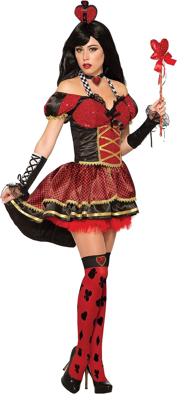 Amazon.com: Forum Womens Queen of Hearts Deluxe Costume