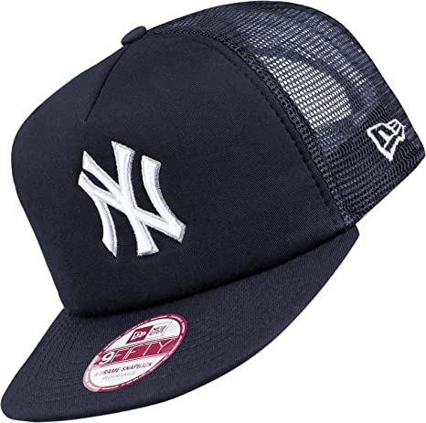 New Era Basic Mesh 9fifity NY Yankees Gorra M/L blue/white: Amazon ...