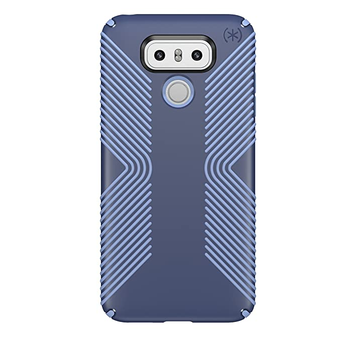 100% authentic 189d7 14913 Speck Products Presidio Grip Cell Phone Case for LG G6 - Marine  Blue/Twilight Blue