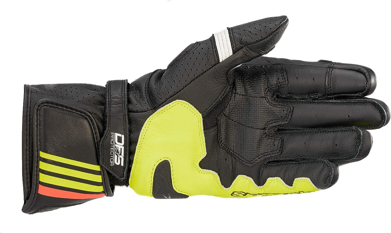 M BLACK//WHITE//BRIGHT//RED Alpinestars Gants moto Gp Plus R V2 Gloves Black White Bright Red