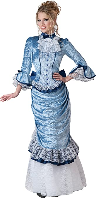 Make an Easy Victorian Costume Dress with a Skirt and Blouse InCharacter Costumes Womens Victorian Lady Costume $149.99 AT vintagedancer.com
