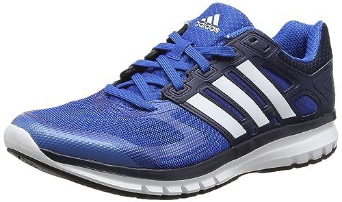 separation shoes e4e7e 2983d Adidas Mens Duramo Elite M Blue, White and Black Mesh Sport Running Shoes  - 6