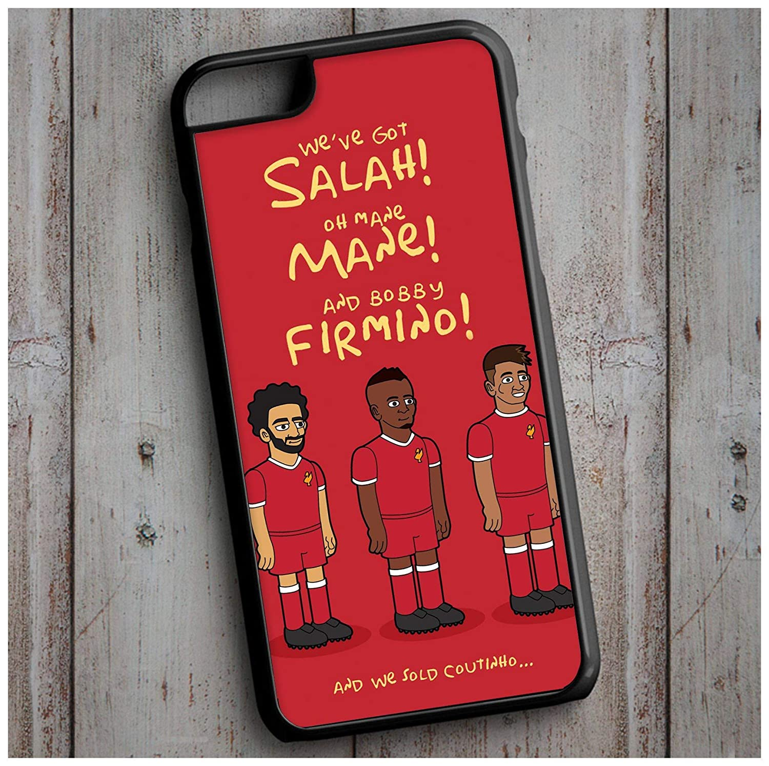 We've got Salah! Mane Mane! and Bobby Firmino! Liverpool FC Cool New Case Cover for any iPhone
