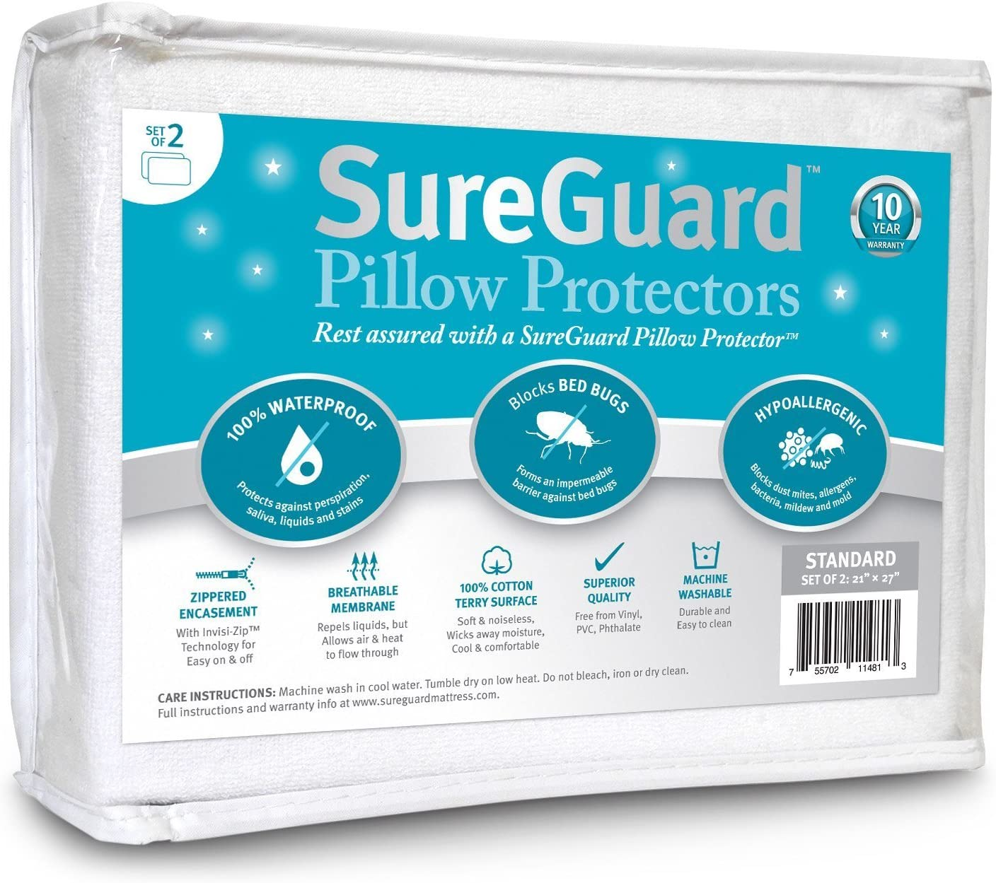 Best for down feather pillows