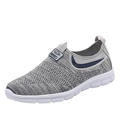 Socviis Mens Casual Athletic Sneakers Comfort Running Shoes Slip On Shoe for Men Walking Working Tennis Aerobics Gym | Field Hockey & Lacrosse