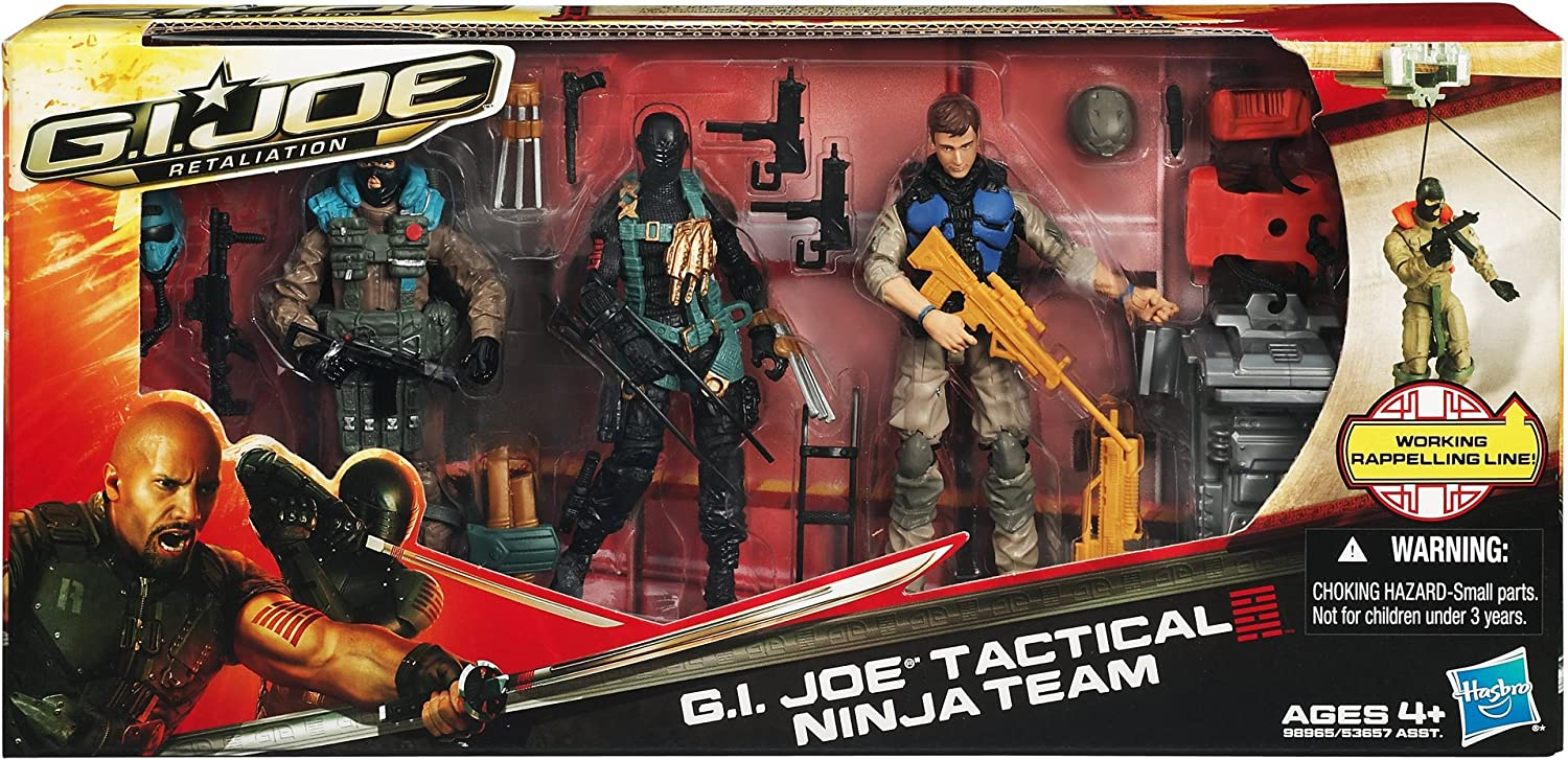 GI Joe Retaliation Tactical Ninja Team Set