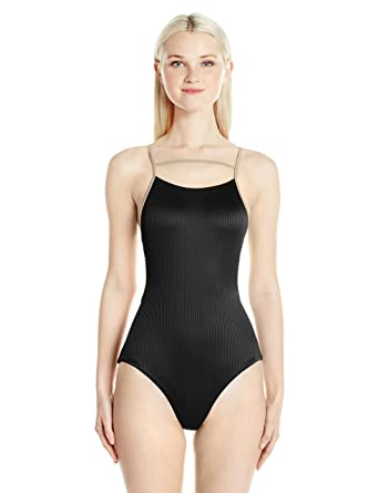 a015f84411270 Amazon.com  RVCA Women s Frothy One Piece Swimsuit  Clothing