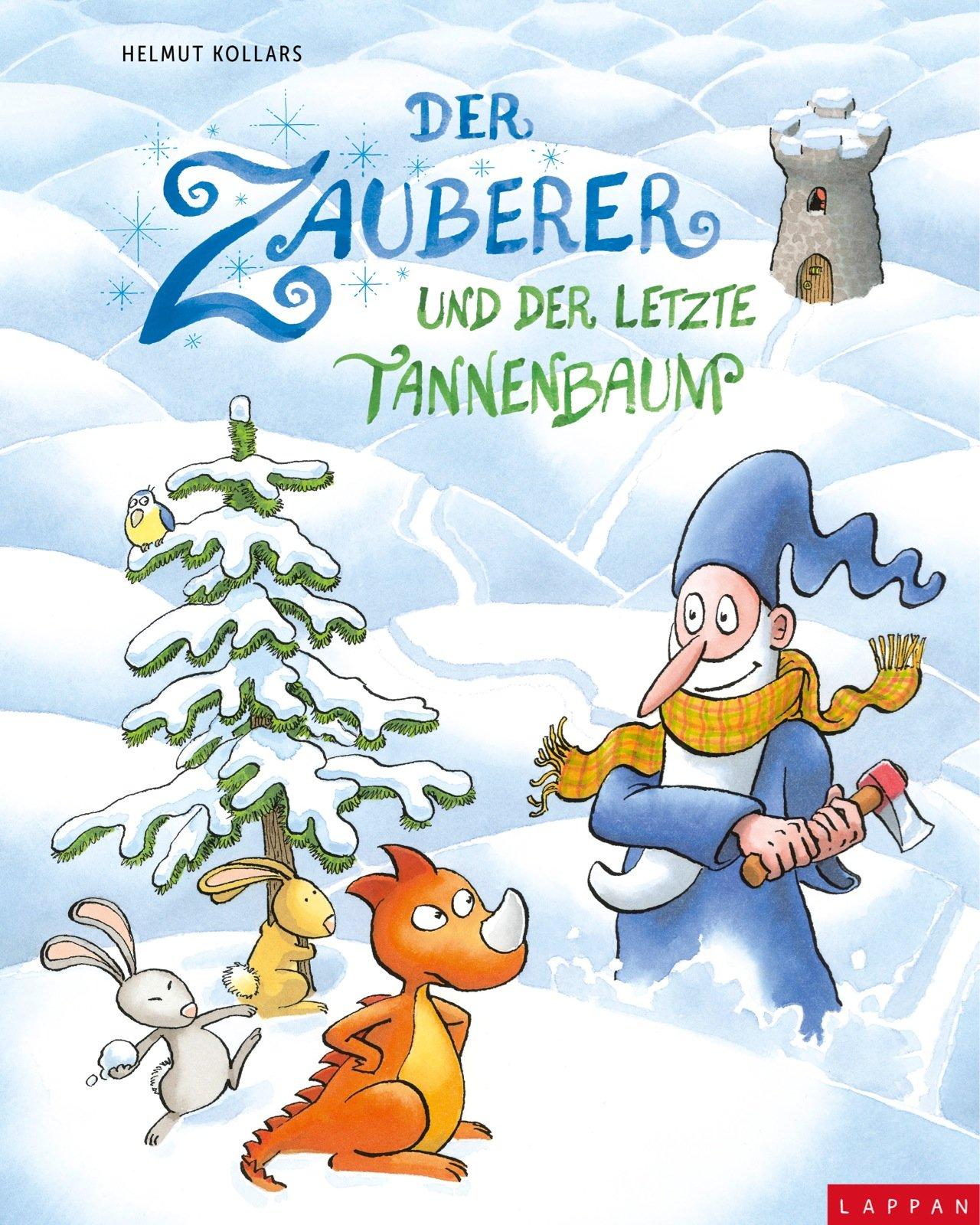 Bilderbuch Tannenbaum.Der Zauberer Und Der Letzte Tannenbaum Amazon De Helmut Kollars