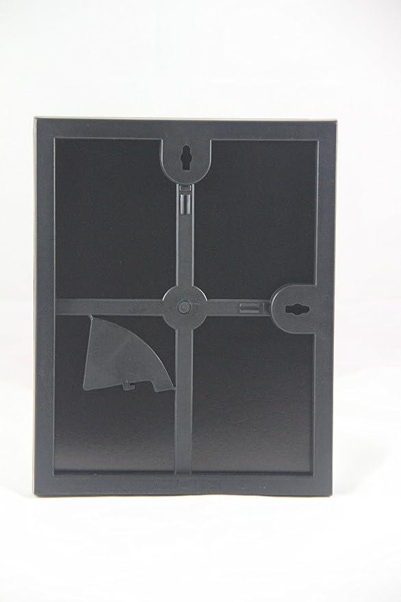 20,3 x 25,4 cm Bilderrahmen, Bilderrahmen,. schwarz, Glas ...