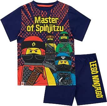 LEGO Pijamas de Manga Corta para niños Ninjago