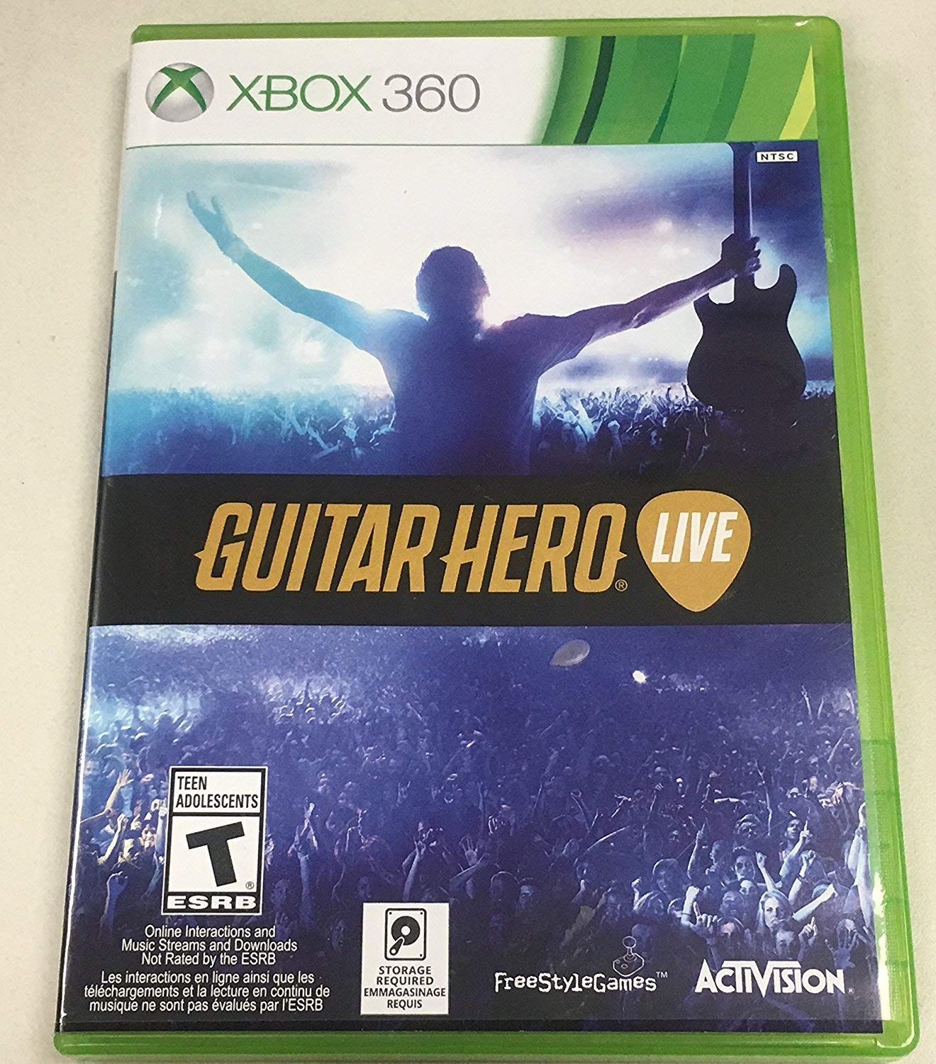 Guitar Hero Live 2-Pack Bundle - Xbox 360 by Activision. (Image #1)