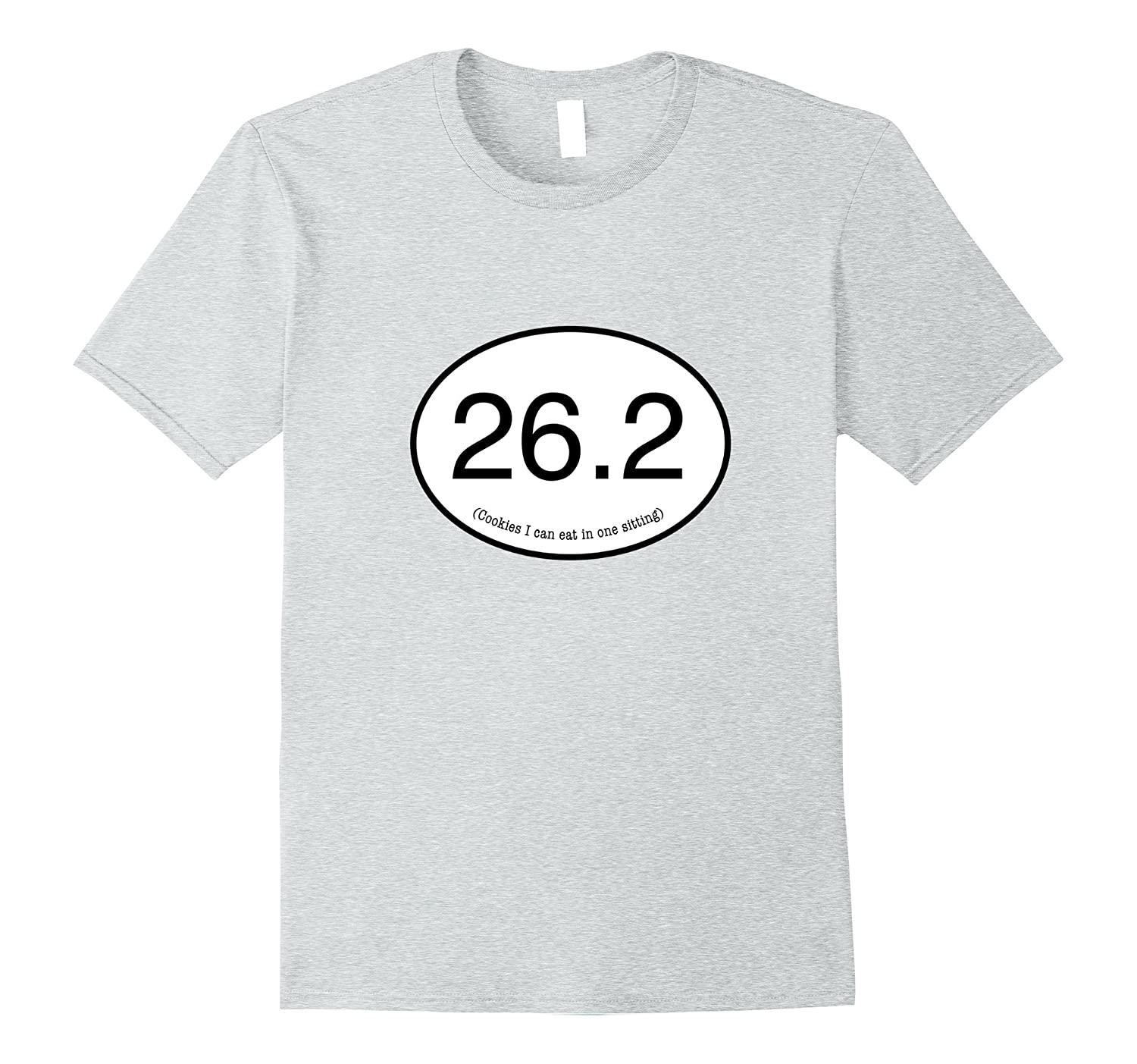 262 Funny Marathon Number of Cookies I Can Eat T Shirt-PL