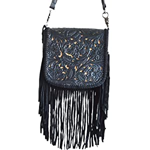 00549aabadb9 Fringe Tassel Aztec Tribal Pattern Crossbody Mini Messenger Bag ...
