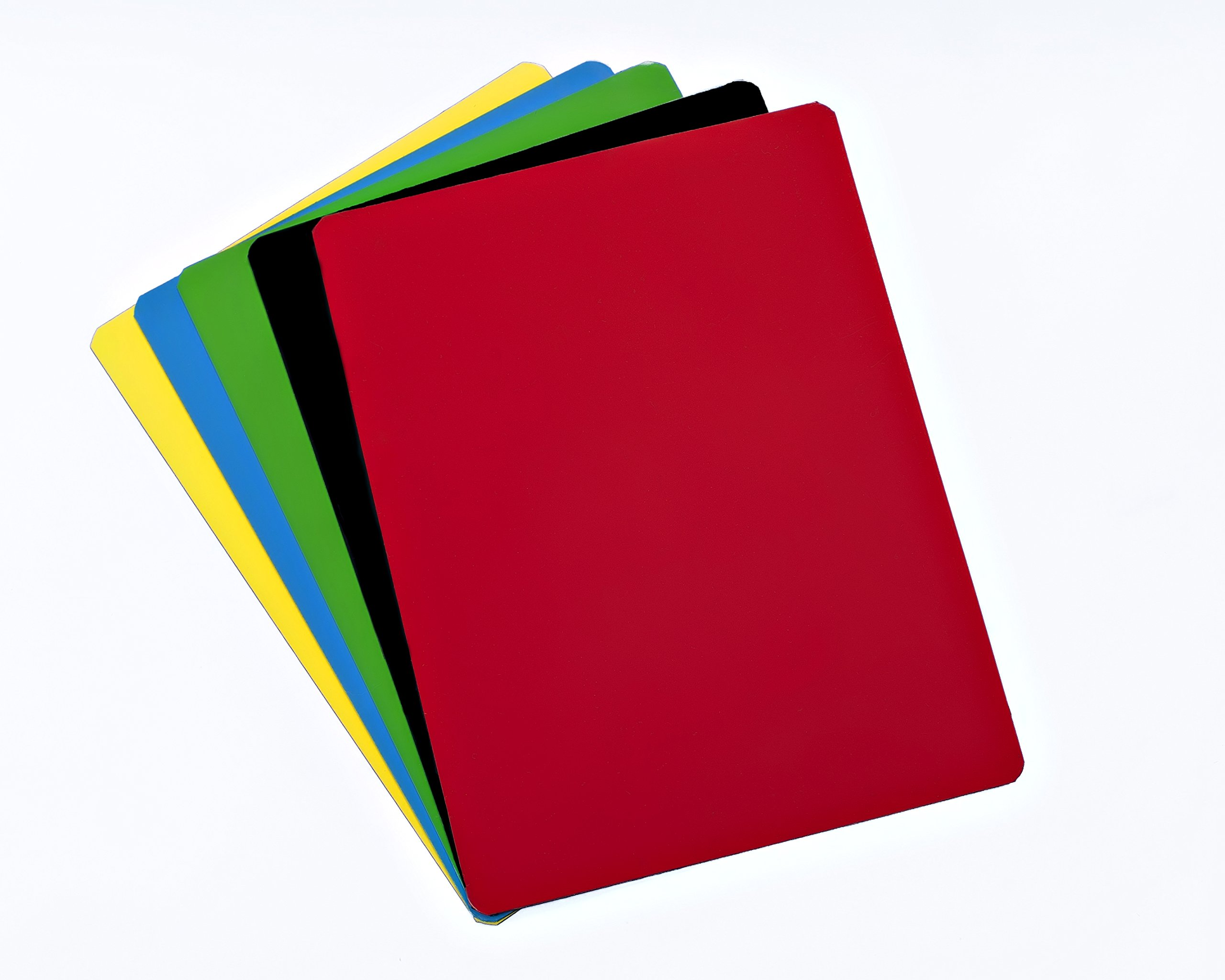 Dry Erase Magnetic Sheet - 12'' X 18'' - 5 Sheets - Multiple Colors by Discount Magnets (Image #1)