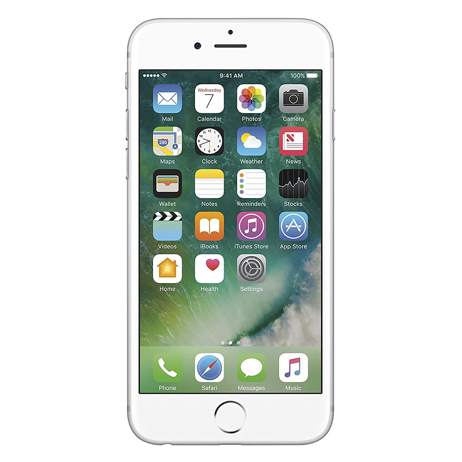 Apple iPhone 6S, AT&T, 64GB - Silver (Renewed)