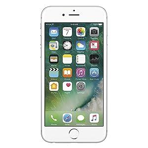 Apple iPhone 6S, GSM Unlocked, 32GB - Silver (Renewed)