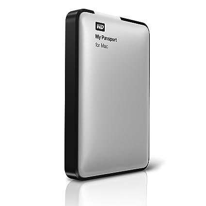 WD My Passport for Mac 500 GB USB 2 0 External Hard Drive -  WDBL1D5000ABK-NESN