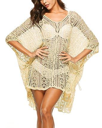 sankill Beach Bikini Sexy Cover Up Robe de Mode Beachwear Maillots de Bain  Maillot de Bain 2fc0ffda8a9