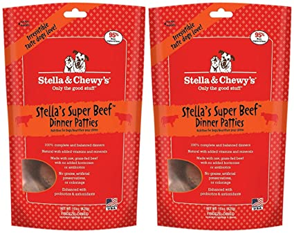 Stella And Chewys Freeze Dried Dog Food For Adult Dogs Beef Dinner