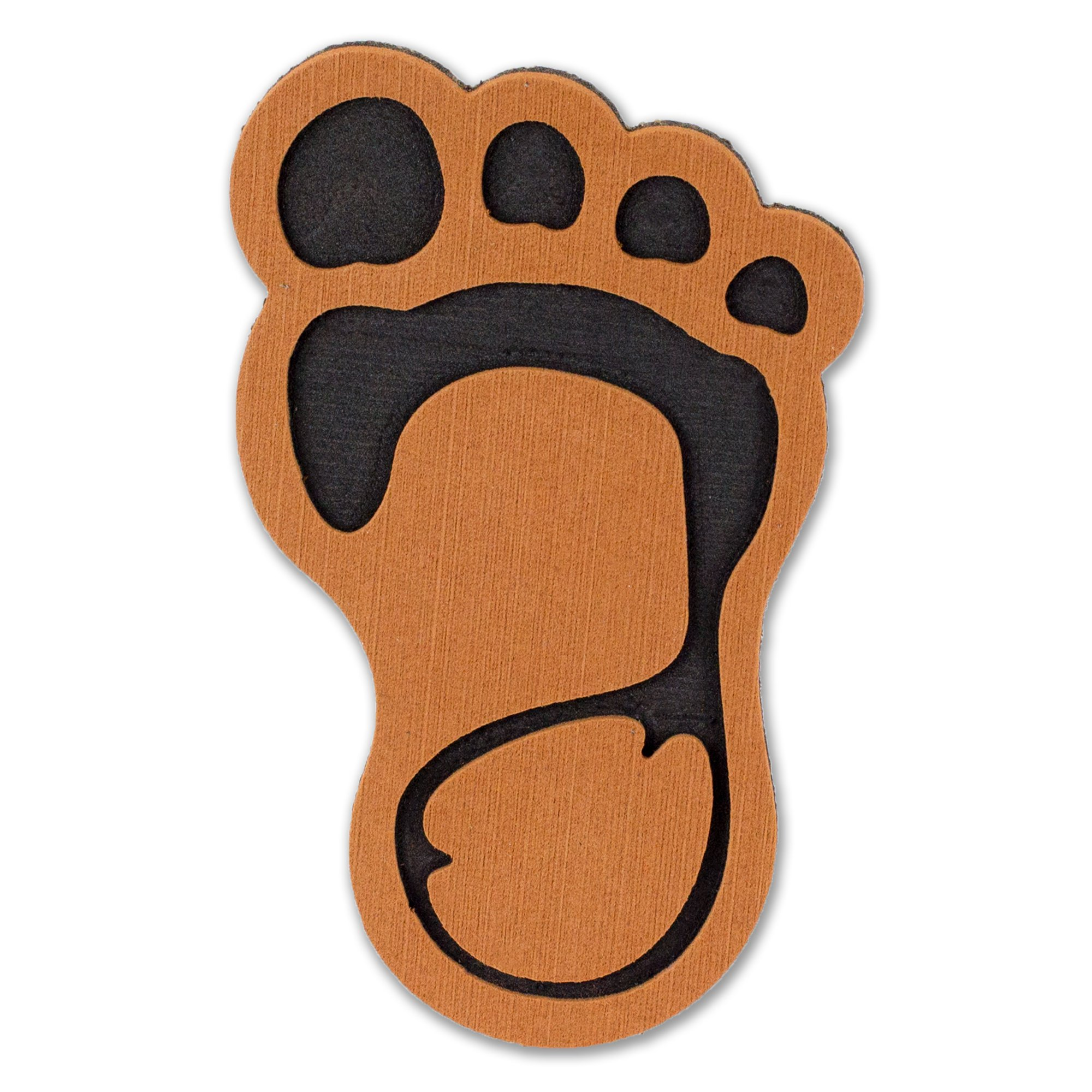 ToeJamR - Snowboard Stomp Pad - BIGFOOT - Brown by Toejamr