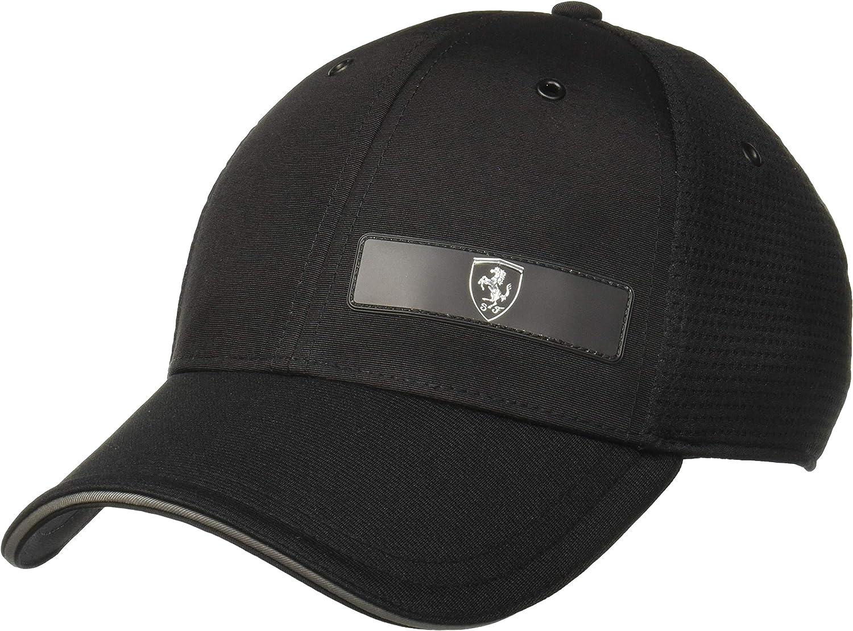 Puma Scuderia Ferrari Ls Snapback Baseball Cap Puma Black One Size Amazon De Bekleidung