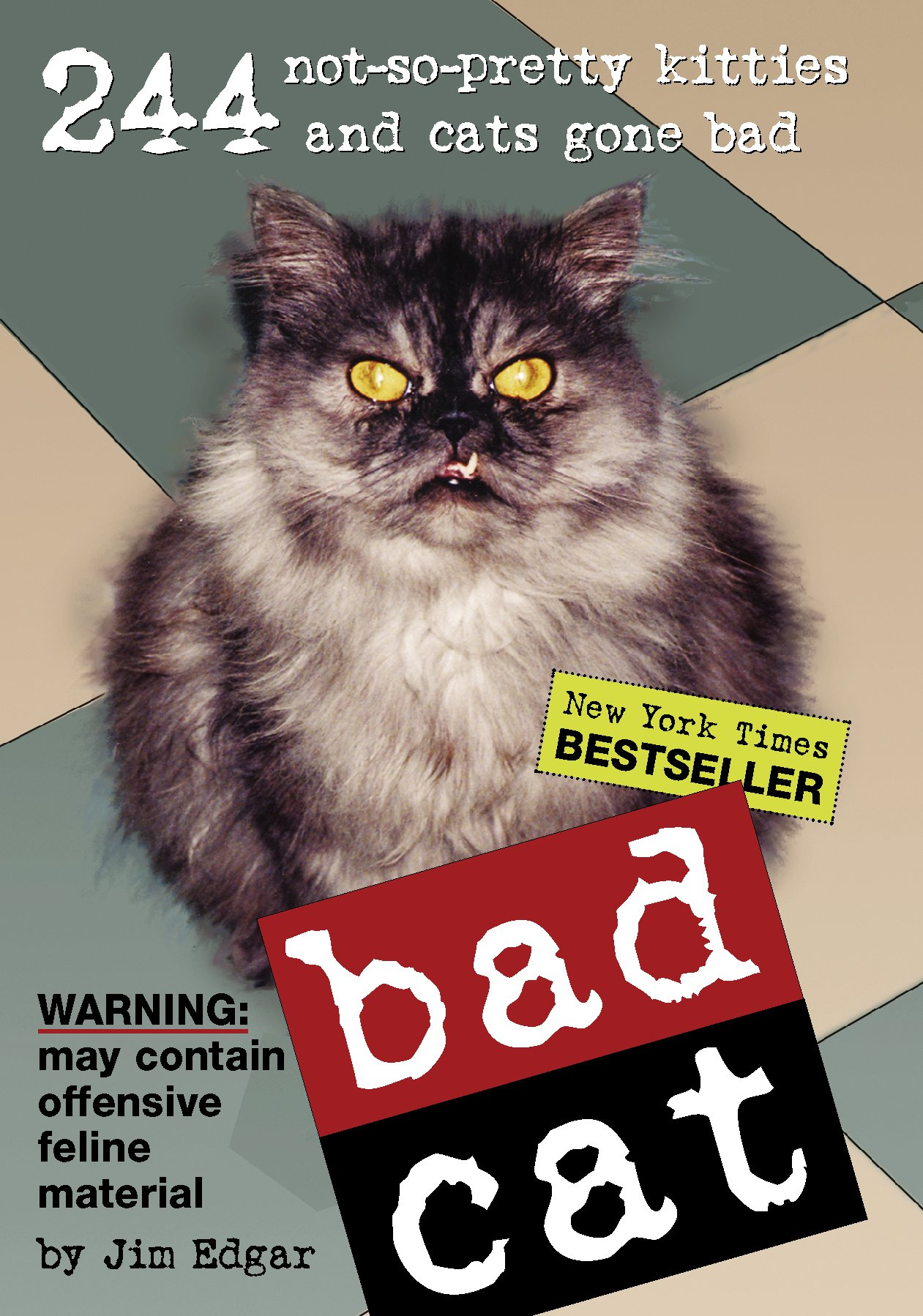 Bad Cat 244 Not So Pretty Kitties and Cats Gone Bad Jim Edgar