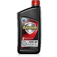 HAVOLINE Chevron Aceite de Motor para Coche MO 10W40 GF5+ SN+, Color Negro, 0.946 l (1QT)
