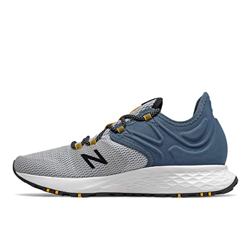 suerte Fontanero de nuevo  Buy new balance Men's Fresh Foam Roav Trail Stone Blue/White Running  Shoes-9 UK (43 EU) (MTROVRW) at Amazon.in