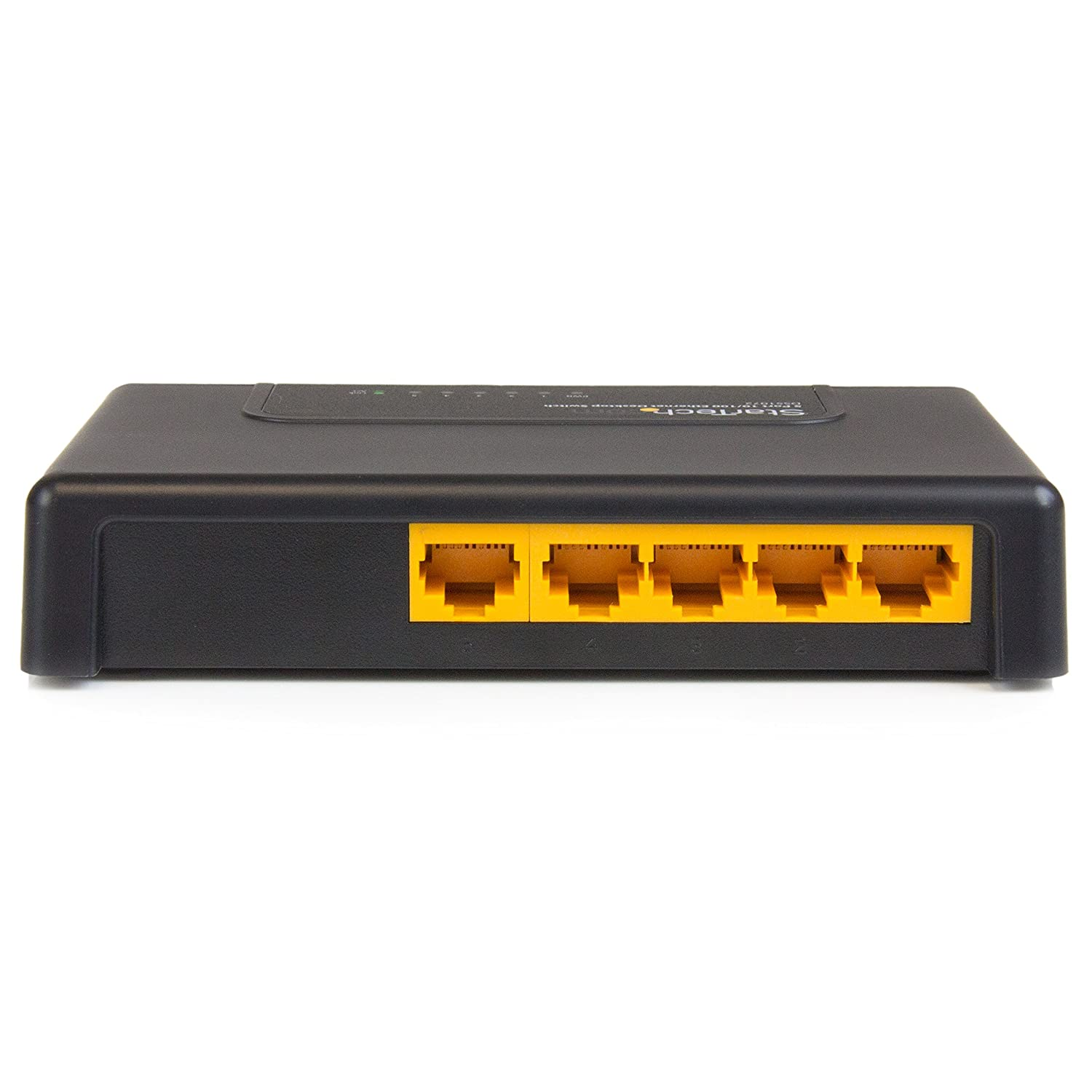 StarTech.com IES5102 5 Port Industrial Ethernet Switch-Din Rail Mount-10//100 Unmanaged Network Switch-IP30 Rated Energy Efficient