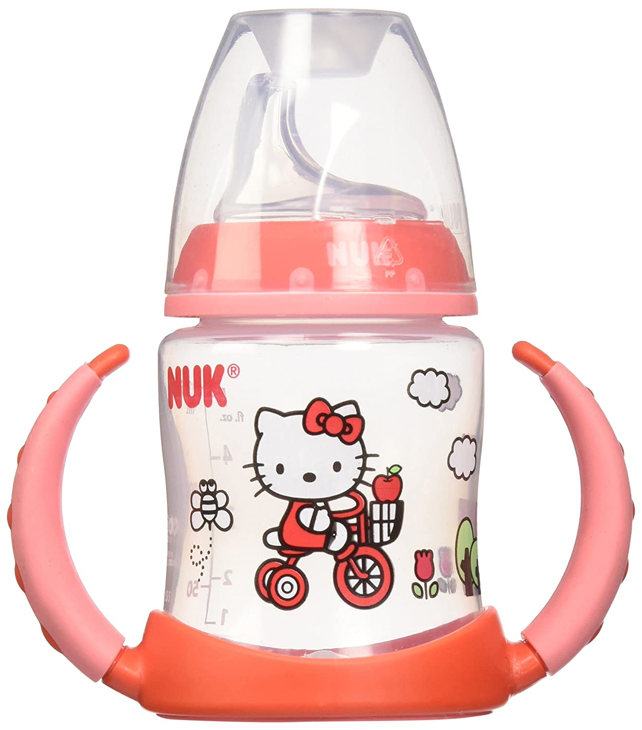 NUK Hello Kitty Learner Cup with Silicone Spout, 5-Ounce 62757