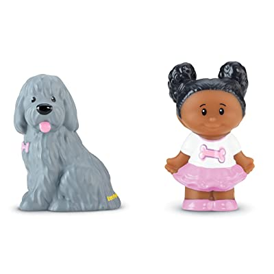 Fisher-Price Little People Tessa & Sheep Dog: Toys & Games