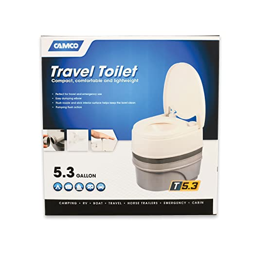 Camco Premium Portable Travel Toilet