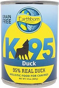 Earthborn Holistic K95 Duck Recipe Grain-Free Canned Moist Dog Food