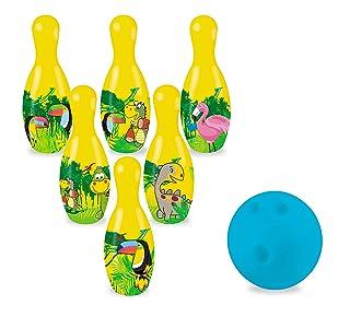 GIUNGLE  Set Palla bowling + birilli