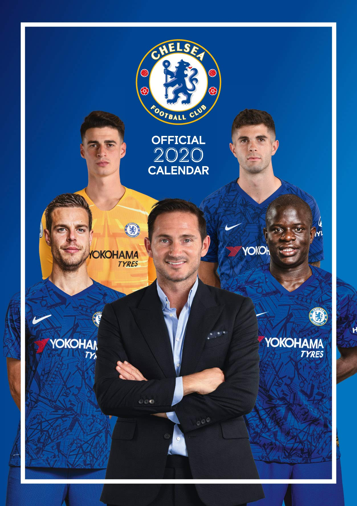 The Official Chelsea F C Calendar 2020 F C Chelsea 9781838541576 Amazon Com Books