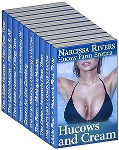 Hucows and Cream: Human Cow 10-Book Mega Bundle (Nursing Dairy Farm Erotica)