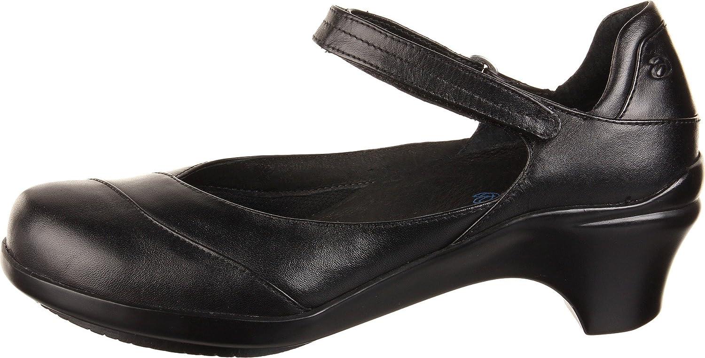 Aravon Women's Maya B002V0DCPC 9 W (D) US|Black Leather