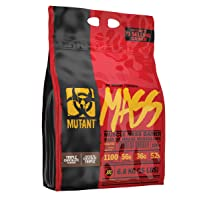 Mutant Mass Weight Gainer Protein Powder – Build Muscle Size and Strength with 1100 Calories – 56 g Protein – 26.1 g EAAs – 12.2 g of BCAAs – 15 lbs – Triple Chocolate