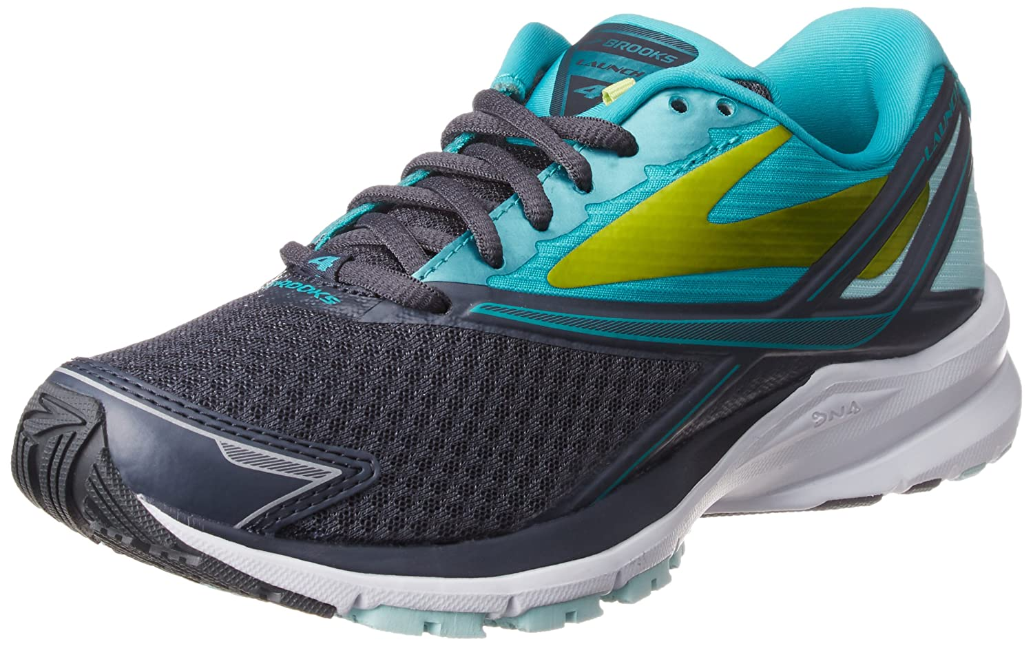 Anthracite Ceramic Lime Punch Brooks Women's Ghost 11 Running shoes