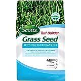 Scotts Turf Builder Grass Kentucky Bluegrass Mix-7 lb, Use in Full Sun, Light Shade, Fine Bladed Texture, and Medium Drought