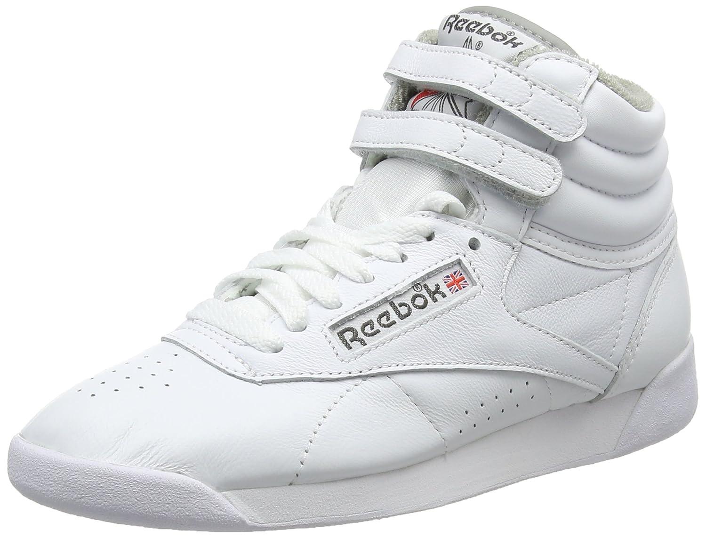 Reebok F/S Hi, Zapatillas Altas para Mujer 36 EU|Varios Colores (White/Carbon/Red/Grey White/Carbon/Red/Grey)