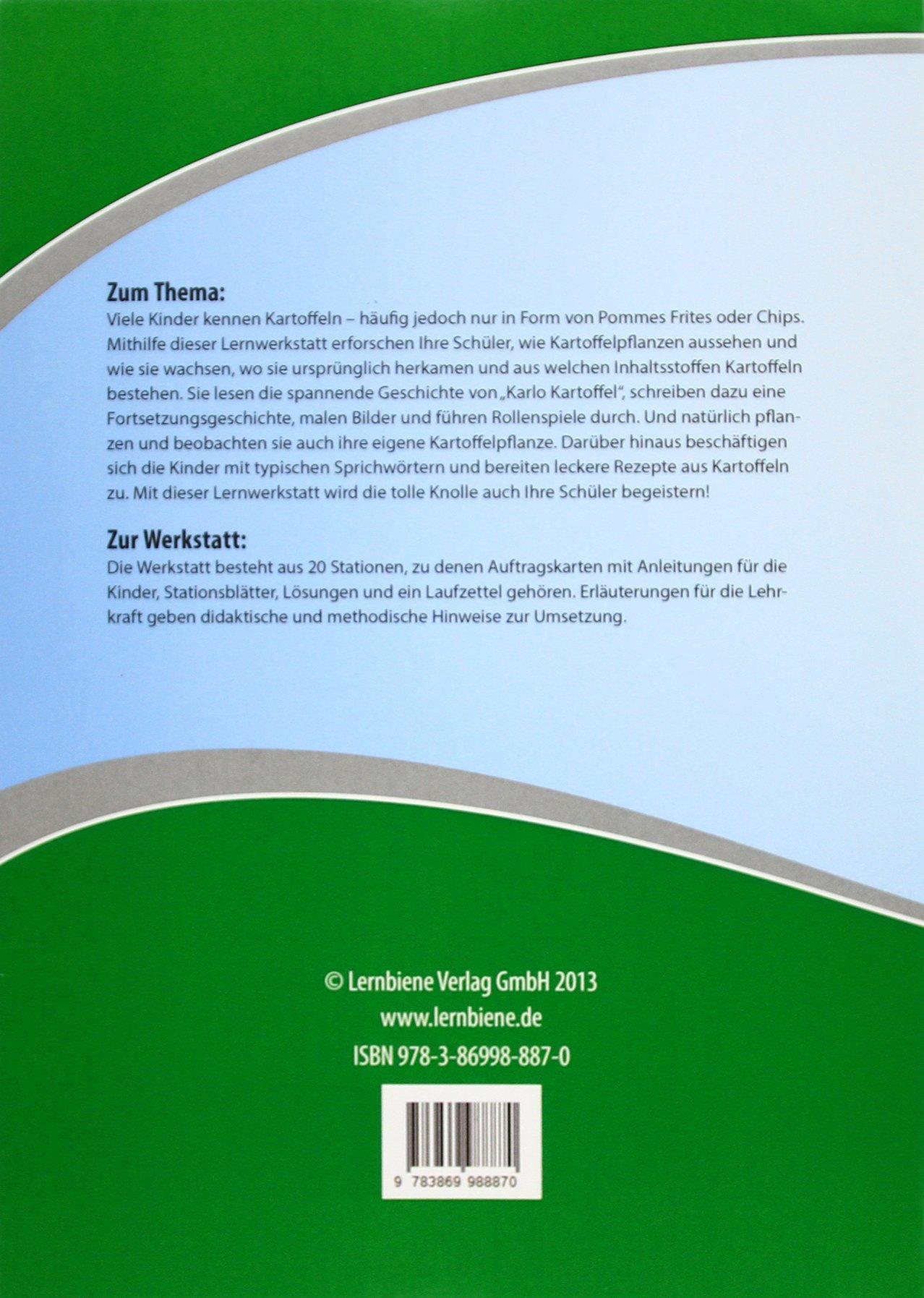 ثلاثون المنزلي طفرة قفزه kartoffelprojekt grundschule amazon ...