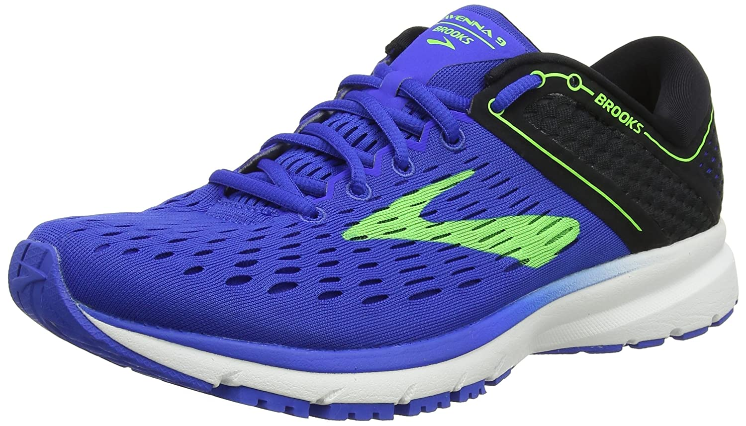 Brooks Ravenna 9 - Zapatillas de Running Hombre 41 EU|Multicolor (Blue/Green/Black 416)